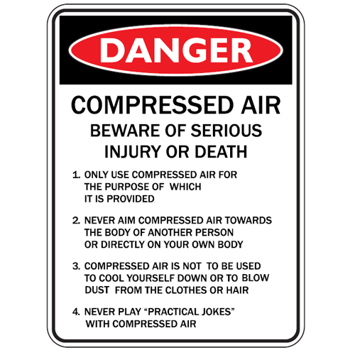 Putting The Squeeze On Cleaning With Compressed Air