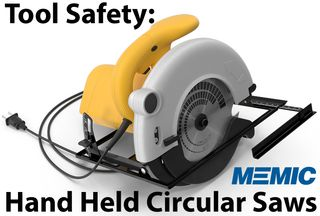 Circular Saw power tool cut
