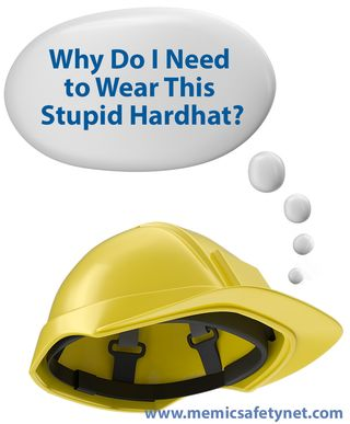 Hard hat Thought Bubble