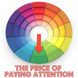 Color Wheel Price of Paying Attention