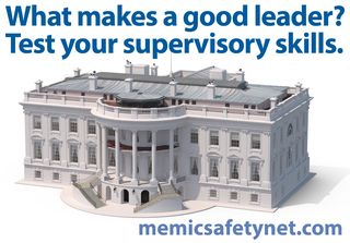 White House Supervisor Skills